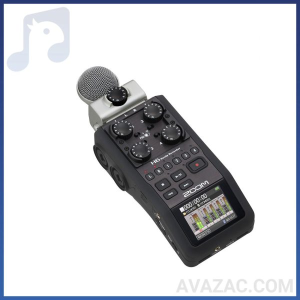 رکوردر صدا ZOOM مدل H6-ZOOM H6 Handy Recorder