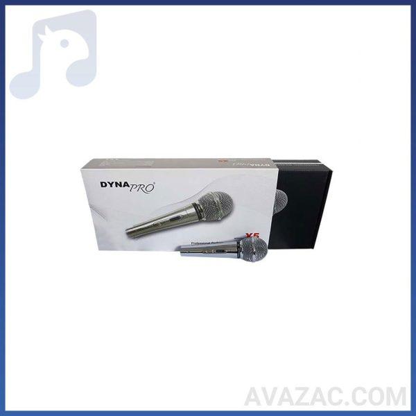 میکروفون بی سیم دستی دایناپرو مدل DYNAMO – X5