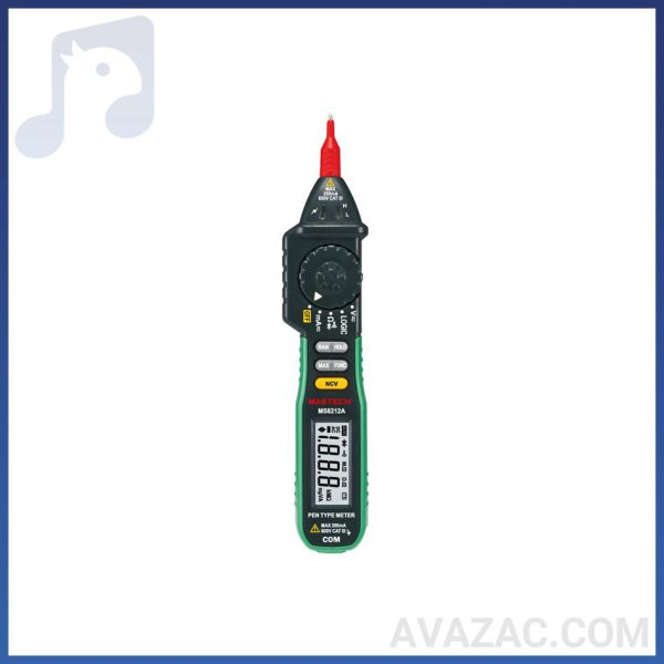 تستر ولت قلمی دیجیتال مستک MS8212