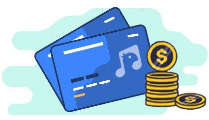 کارت اعتباری خرید تجهیزات صوتی