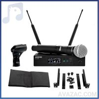 میکروفون بیسیم شور QLXD24/SM58