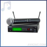 میکروفون بیسیم شور Shure SLX24/SM58